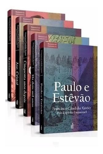 05 Livros Paulo Estevão Há Dois Mil Anos Renuncia ....