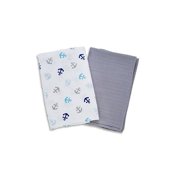 Swaddleme Muslin Swaddle Mantas, Anclas
