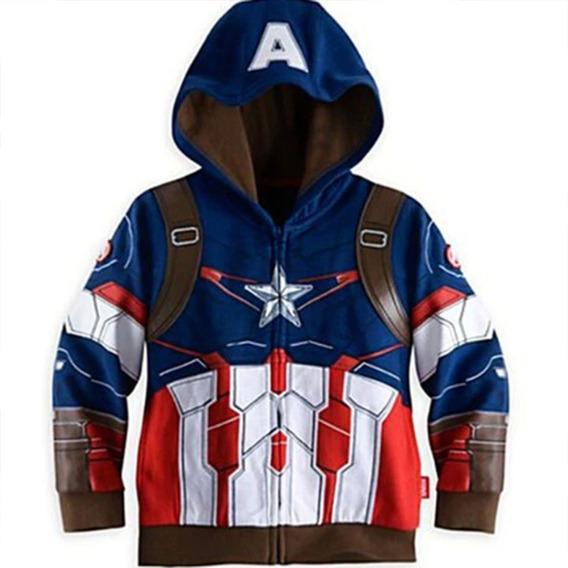 Ropa Niño Sudadera Avengers Thor Capitán América