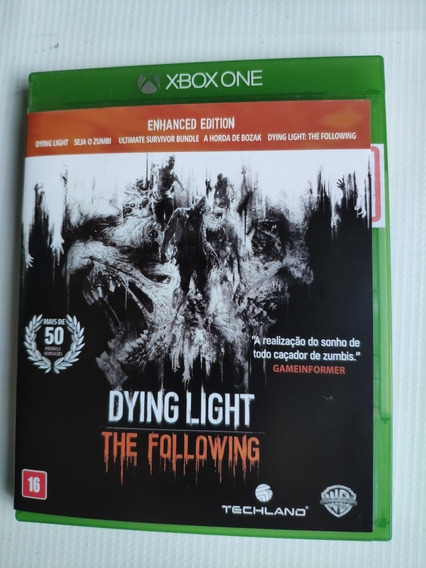 Dying Light Xbox One Midia Física Semi Novo