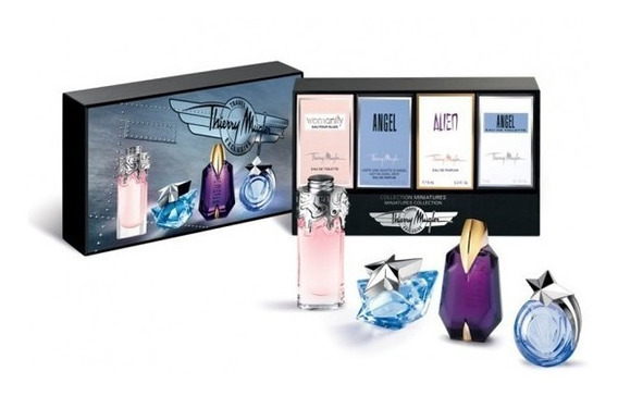 Kit Miniaturas Thierry Mugler Miniature Collection Exclusive