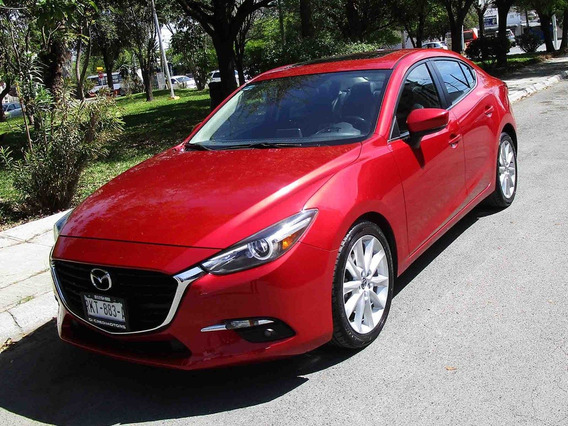 Mazda3 Sport Grand Touring 2017 Color Rojo