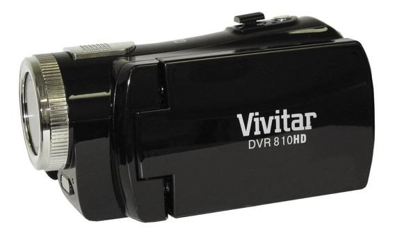 Filmadora Digital Vivitar Dvr 810hd 8.1mp Preta