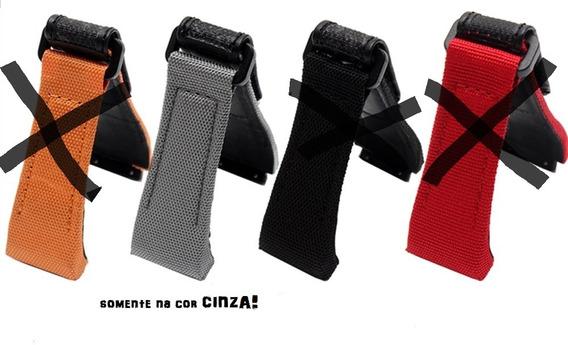 Pulseira Richard Mille Velcro Cinza