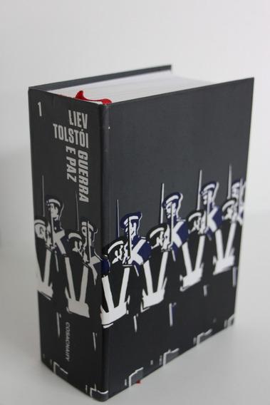 Livro Guerra E Paz - Tolstoi - Cosac Naify - Volume 1