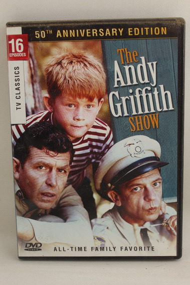 Dvd 117 The Andy Griffith Show 16 Episodes 50th Anniversary
