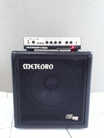 Cabeçote Meteoro 400mb + Caixa 115-bs
