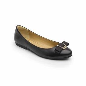 Zapato Balerina Flexi Dama 47303 Negro Mujer Flats