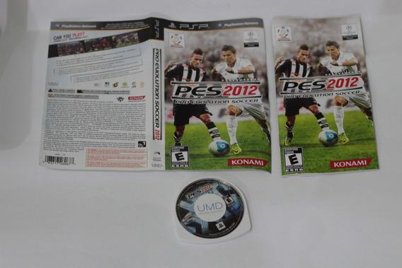 Jogo Pes Pro Evolution 2012 Para Playstation Psp Midia Top