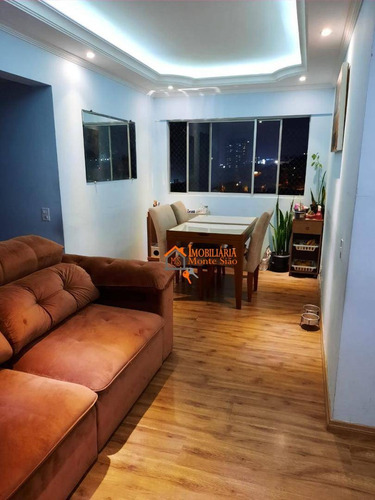 Apartamento Com 3 Dormitórios À Venda, 66 M² Por R$ 376.300,00 - Vila Augusta - Guarulhos/sp - Ap2729