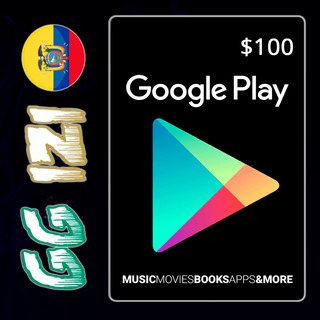 Google Play Store Gift Card $100 - Tarjeta De Regalo - Usa