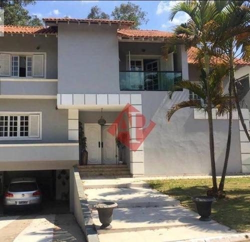Casa Com 4 Dormitórios À Venda, 496 M² Por R$ 2.200.000,00 - Alphaville 05 - Santana De Parnaíba/sp - Ca0921