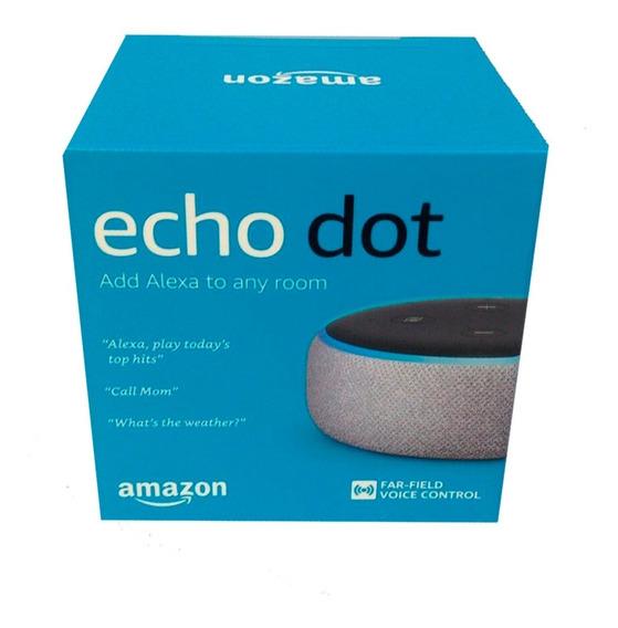 Echo Dot Speaker Alexa 3º Geração - Cinza