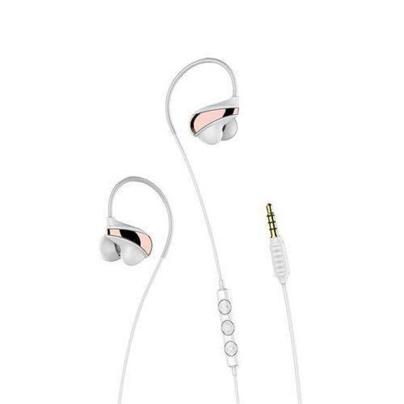 Fone De Ouvido Digital Hires Audio Earphone Stéreo Branco