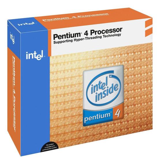 Processador Intel Pentium 4 630 BX80547PG3000FT e 3GHz de frequência