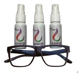 06 Limpa Lentes Oculos Clean Up - Atacado.