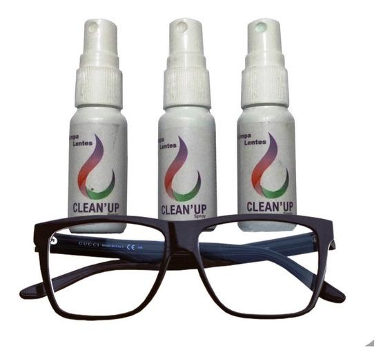 Limpa Lentes Oculos Clean Up (10 Un.) - Atacado.