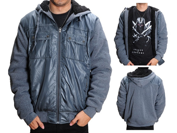 Jaqueta Inverno Casaco Para Frio Masculino De Algodão - K02