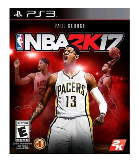 Nba 2k17 Ps3 Mídia Física Lacrado Original