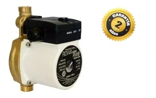Bomba Agua Presurizadora Mini Rw9 Bronce Rowa Cuotas + Envio