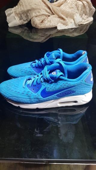 Zapatillas Nike Airmax 90 Ultra Br Celestes