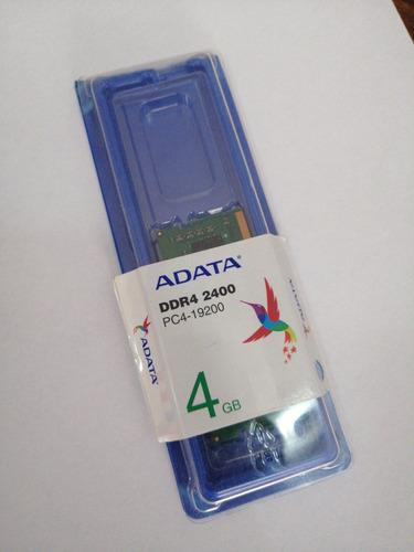 Imagen 1 de 2 de Memoria Ram Ddr4 (2400) Adata Nueva! Para Laptop.