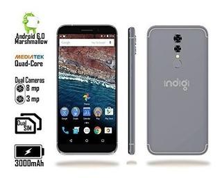 Indigi Android 6.0 Dualsim 4g Lte Smartphone 4core Black Des