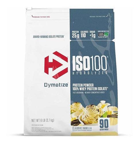 Iso 100 6lb (2,7kg) Dymatize Baunilha