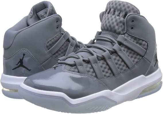 Jordan Max Aura Cool Grey / Black - White - Clear Aq9084 010