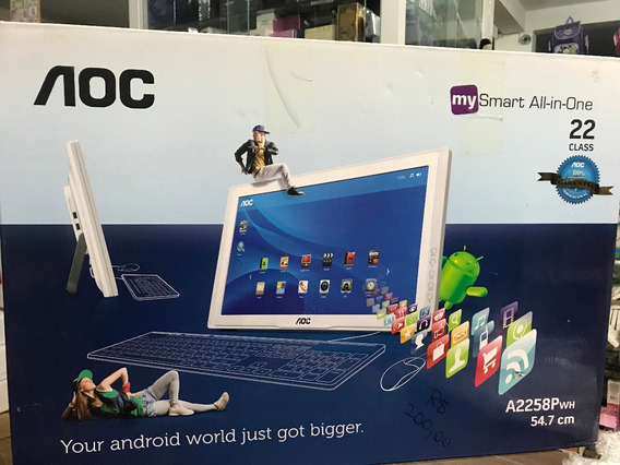 Smart All-in-one Aoc A2258pwh Android 4.0 4gb 21.5