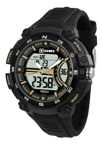 Relógio X-games Masculino Anadigi Xmppa258 Bxpx Preto