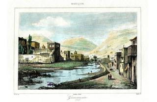 Lienzo Tela Canvas Guanajuato Grabado Francés 1810 33 X 48