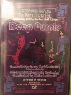 Dvd Deep Purple In Royal Albert Hall 24-9-69 De Colección!