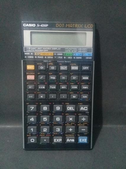 Calculadora Científica Casio Fx 4200p