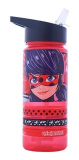Botella Termo Lady Bug Con Pulseras 450ml Disney Store Cilindro Para Agua Niña Lunch Libre De Bpa Infantil Original
