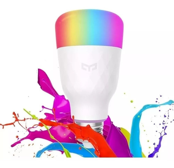 Lâmpada Xiaomi Yeelight E27 Wifi 2a Geração Color Bivolt 10w
