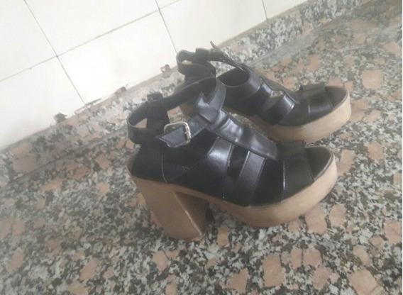 Zapatos Next De Mujer Talle 40 Simil Cuero
