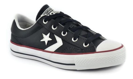 Zapatilla Converse Star Player Ox Negro/rojo/blanco