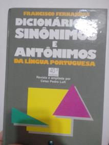 Dicionário De Sinônimos E Antônimos - Imperdível!