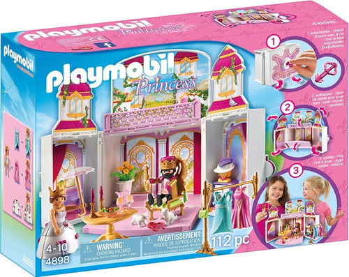 Playmobil 4898 Cofre Palacio Real Con Llave Educando Full
