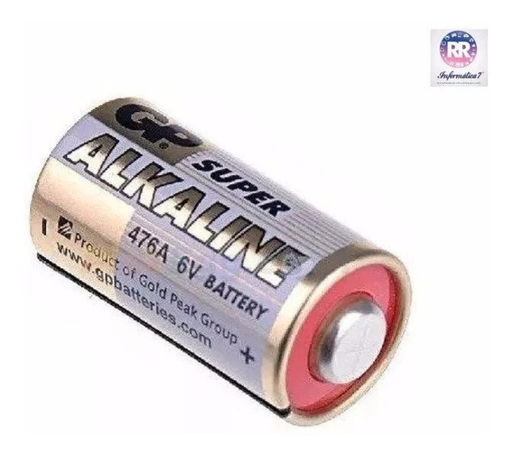 Bateria Gp 4lr44 6v 476a Alcalina
