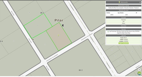 Terreno - Pilar