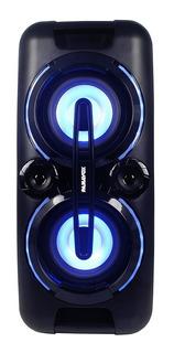 Parlante Potenciado Panavox Bluetooth + Micrófono De Regalo