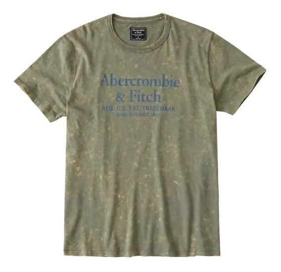 Remera De Hombre Abercrombie & Ftich Malibu.tienda.online