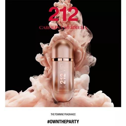 212 Vip Rosé Carolina Herrera - Perfume Feminino