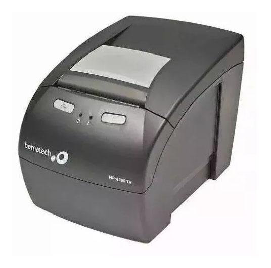 Impressora De Cupom Não Fiscal Térmica Bematech Mp 4200 Th