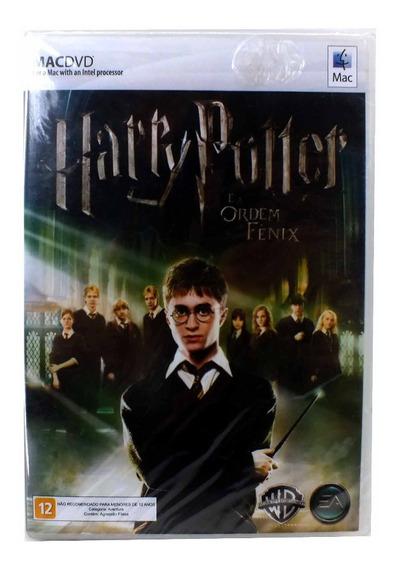 Jogo Para Pc Mac Dvd Harry Potter E A Ordem Da Fenix A6580