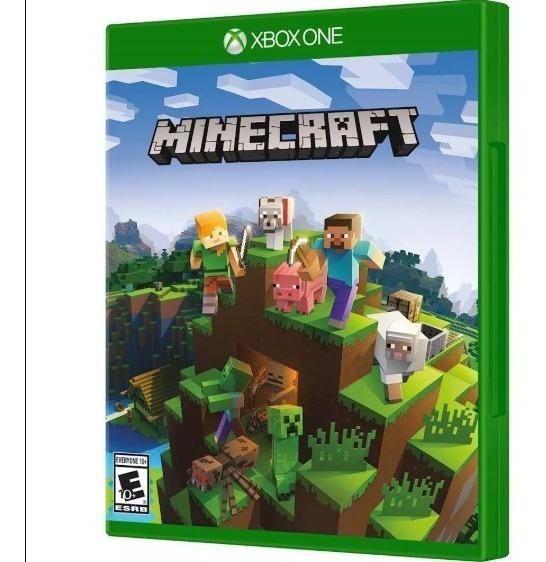Jogo Minecraft Xbox One + 2 Jogos Brinde Mídia Física Lacrad