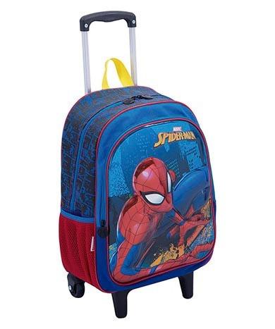 Mochila 3d Spider Man Infantil Rodinhas