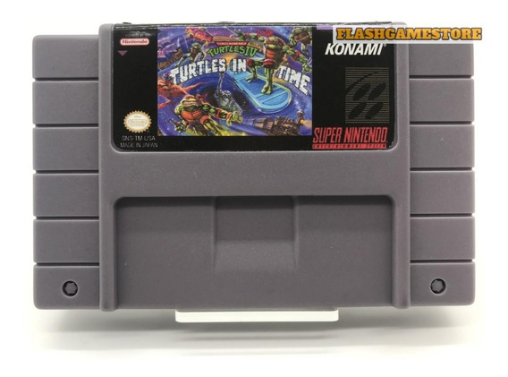Turtles 4 - Super Nintendo *paralelo